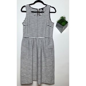 J.Crew Striped Midi Dress Size 6